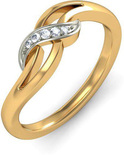 BlueStone The Gioia 18kt Diamond Yellow Gold ring
