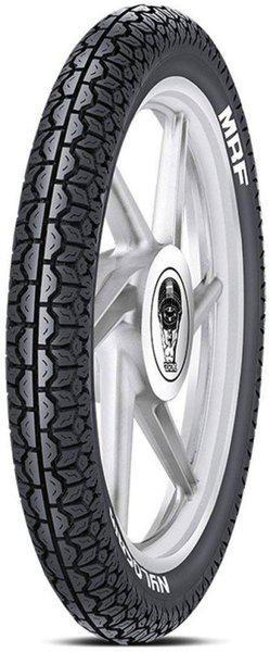 MRF Nylogrip 3.50-19 57P Tube Type Bike Tyre Rear Rear Tyre(Street, Tube)