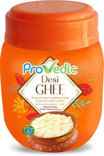 ProVedic Pure Desi Ghee 500ml Jar 500 ml Plastic Bottle