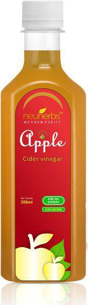 Neuherbs Natural Raw Apple Cider Vinegar for Weight loss Vinegar(350 ml)