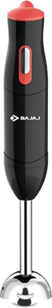 BAJAJ HB 21 300 W Hand Blender(Black & Peach)