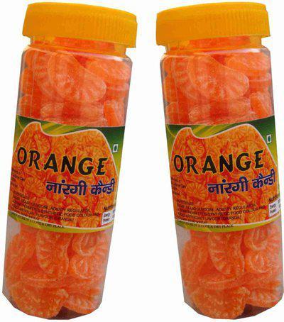 TT T T ORANGE CANDY - PACK OF TWO ORANGE Powder Candy(2 x 0.2 kg)