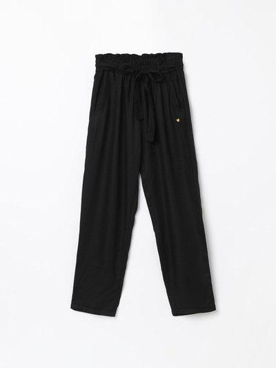 BOSSINI Regular Fit Girls Black Trousers