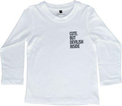 Haoser Boys Printed Pure Cotton T Shirt(White, Pack of 1)
