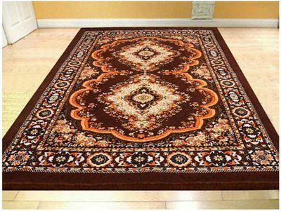 royal home Multicolor Jute, Chenille Carpet(150 cm X 205 cm)