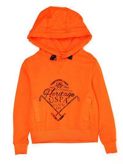 U.S. Polo Assn Full Sleeve Printed Baby Boys Sweatshirt