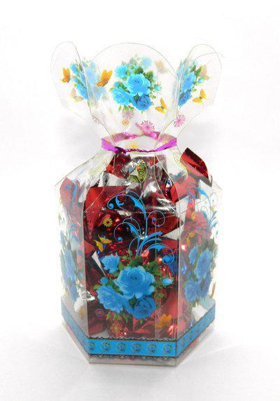 Rich'U Chocolates Floral Gift Box - 12 Pcs Bars(100 g)
