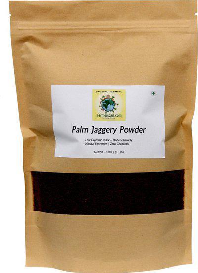 iFarmerscart Palm Jaggery Powder Jaggery(500 g)