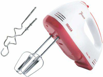 Inalsa Easy Mix Mixer 250 W Hand Blender(Red, White)