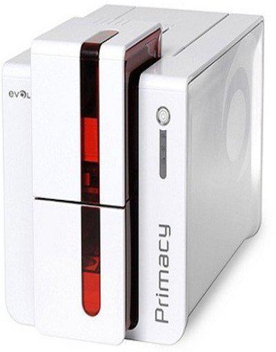 Evolis Primacy card printer The Fast and Versatile Card Printer Multi-function Printer(White)
