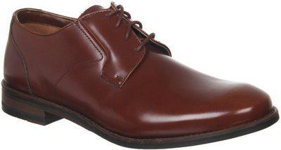 Clarks Men's Edward Plain British Tan Lea Formal Shoes