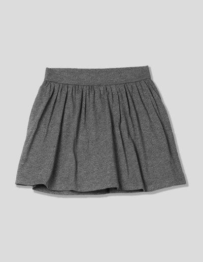GAP Solid Girls Flared Grey Skirt