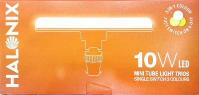 halonix 10 W T-Bulb B22 LED Bulb(Multicolor)
