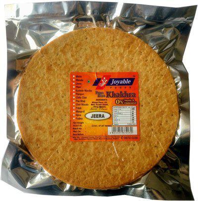 joyable Khakhra (Jeera (Cumin)) - 200 gms each(6 x 200 g)