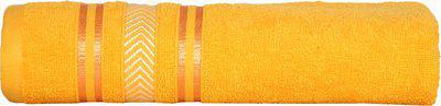 Divine Overseas Cotton 400 GSM Bath Towel(Yellow)