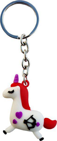 KTB Creations Unicorn Horse Keychain Unicorn Birthday Party Favors Supplies for Kids Girls Pony Toys Key Chain
