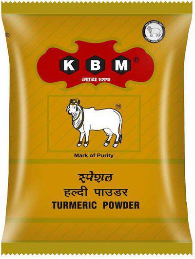 KBM GAI CHAAP TURMERIC POWDER (HALDI POWDER)(100 g)
