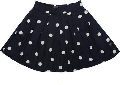 Allen Solly Polka Print Girls Pleated Multicolor Skirt