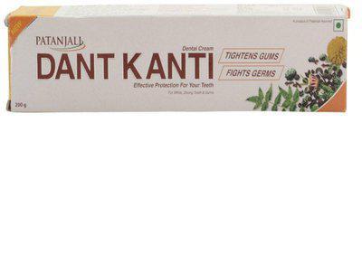Patanjali Dant Kanti Dental Cream - 200 g Toothpaste(200 g)