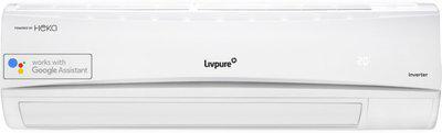 Livpure 1 Ton 3 Star Split Inverter AC with Wi-fi Connect - White(HKS-IN12K3S19A, Copper Condenser)