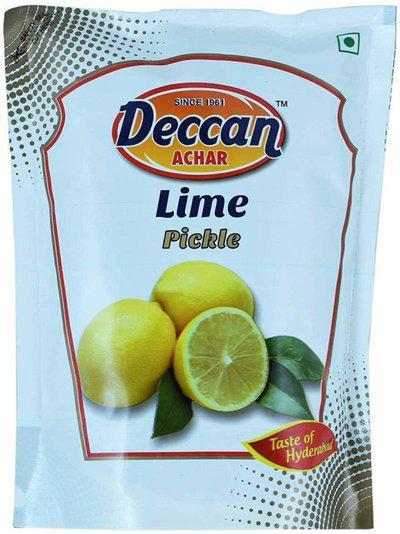 DECCAN ACHAR Taste Lime Pickle(250 g)