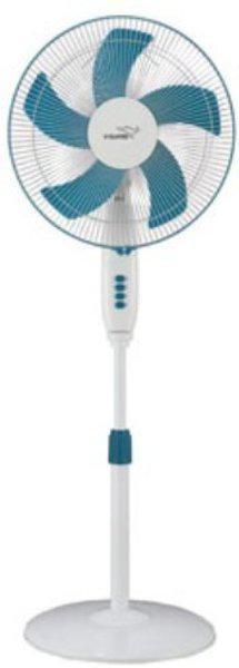 V-Guard Finesta STS Prime 5 Blade Pedestal Fan (White Blue) 2020 400 mm 5 Blade Pedestal Fan(White, Blue, Pack of 1)