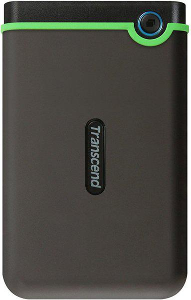 Transcend 2 TB External Hard Disk Drive(Iron Gray)