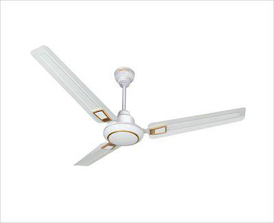 ACTIVA GALAXY DECO 5 STAR 1200 mm 3 Blade Ceiling Fan(IVORY, Pack of 1)