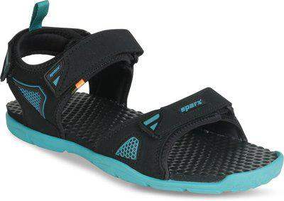 Sparx SS-497 Men Black, Blue Sandals