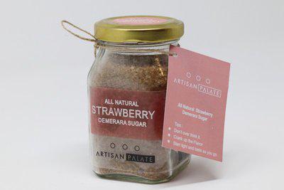 Artisan Palate AllNatural Strawberry Demerara Sugar Sugar(150 g)