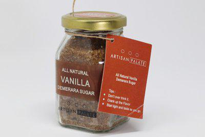 Artisan Palate All Natural Vanilla Demerara Sugar Sugar(150 g)