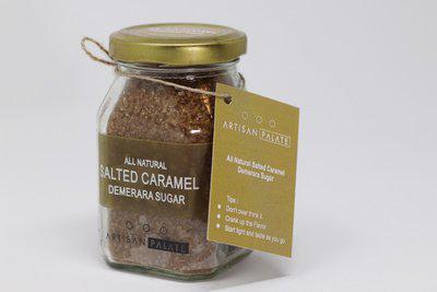 Artisan Palate All Natural Salted Caramel Demerara Sugar Sugar(150 g)