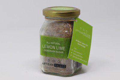 Artisan Palate All Natural Lemon Lime Demerara Sugar Sugar(150 g)