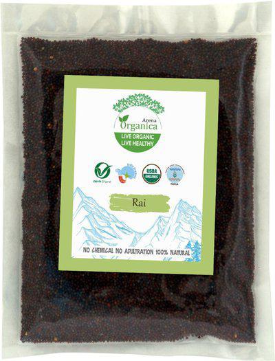 Arena Organica Organic Whole Rai Seeds(3 x 100)