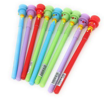Oytra 24 Pieces Designer Clown Pens Gel Pen(Pack of 24)
