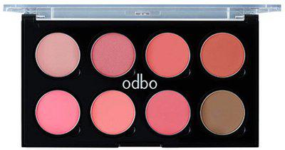 Odbo Infinity Blusher Color Palette(Multicolor)