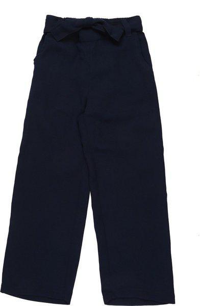 Pantaloons Junior Regular Fit Girls Dark Blue Trousers
