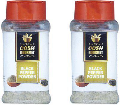 Oosh Black Pepper 100g ( 50g x 2 )   Cooking Essential  (2 x 50 g)