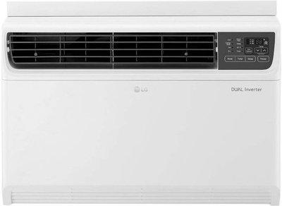 LG 1.5 Ton 3 Star Window Dual Inverter AC - White(JW-Q18WUXA, Copper Condenser)