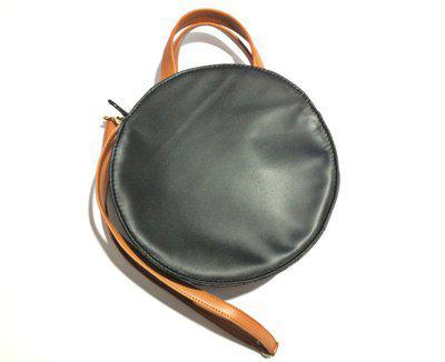 leethal Black, Tan Sling Bag