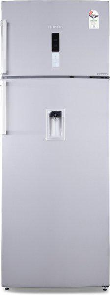 Bosch 507 L Frost Free Double Door 2 Star (2019) Refrigerator with Water Dispenser(Grey, KDD56XI30I)