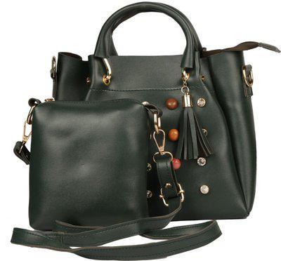 Deniza Black Sling Bag(Pack of 2)