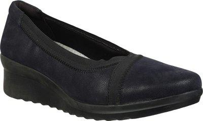 Clarks Solid Black Coloured Textile Casual Shoes (Size:- 3.5) - 26144477