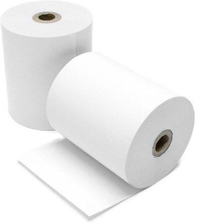 SECURITY STORE CARD SWIPE MACHINE THERMAL PAPER ROLL 25 X M (2 INCH SET OF 10 ROLL) Thermal Cash Register Paper(10 cm x 12 cm)