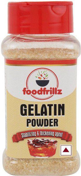 foodfrillz GELATIN POWDER single pack Gelatin Crystals(90 g)