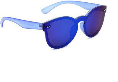 Dressberry Wayfarer Sunglasses(Silver)
