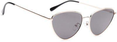 Dressberry Aviator Sunglasses(Grey)