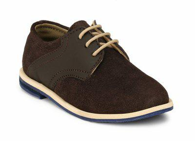 Tuskey Boys Lace Sneakers(Brown)
