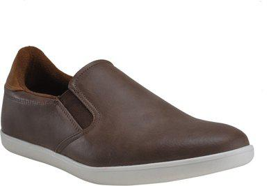 Franco Leone Brown Men's Casual Shoes