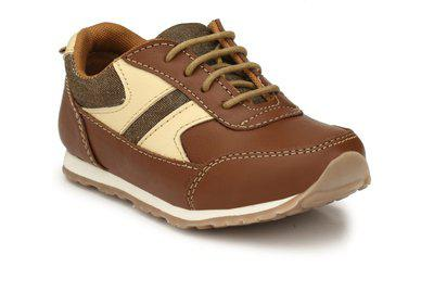 Tuskey Boys Lace Casual Boots(Tan)